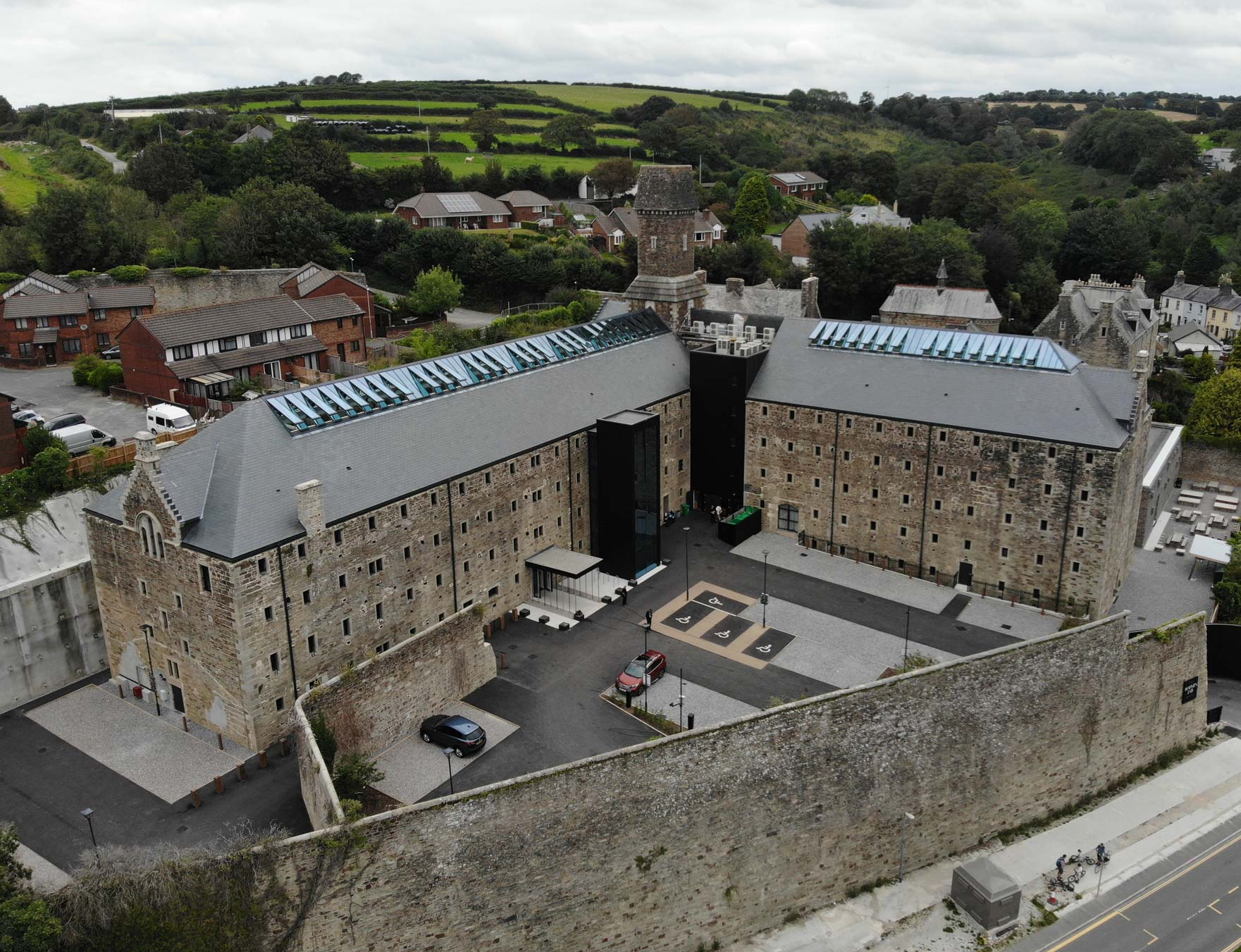 ESB Services Projects - Bodmin Jail Hotel